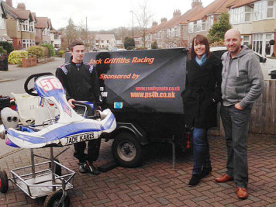 PS4B Supports Local Karting Hero